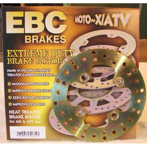 EBC тормозной диск задний Yamaha Grizzly 700...