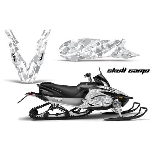 Комплект графики AMR Racing Skull Camo (Yamaha Ape...