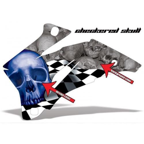 Комплект графики AMR Racing Checkered Skull (ОUTLA...