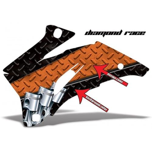 Комплект графики AMR Racing Diamond Race (ОUTLANDE...