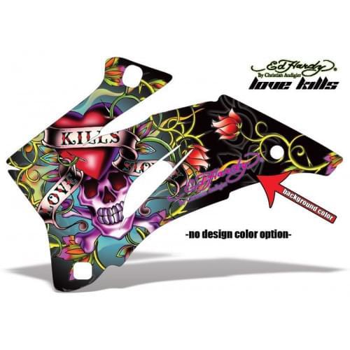 Комплект графики AMR Racing Ed Hardy Love Killls (...