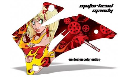 Комплект графики AMR Racing Motorhead Mandy (ОUTLANDER MAX G1)