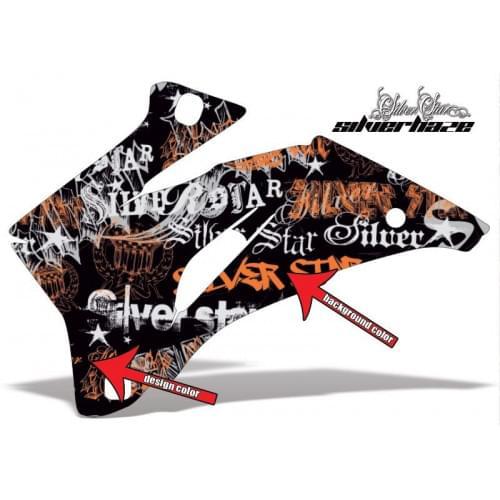 Комплект графики AMR Racing Silverhaze (ОUTLANDER ...