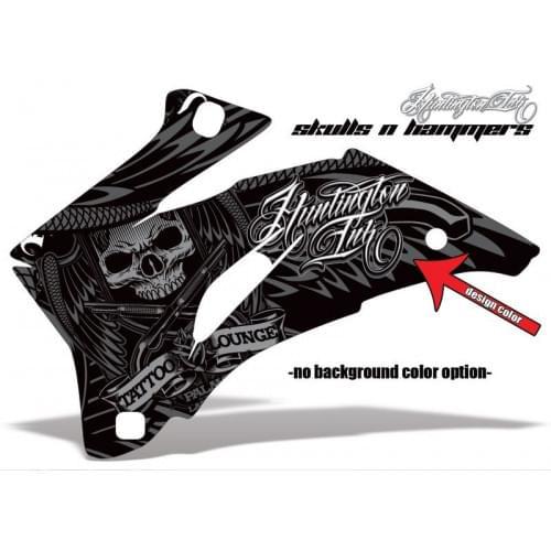 Комплект графики AMR Skulls n Hammers (ОUTLANDER M...