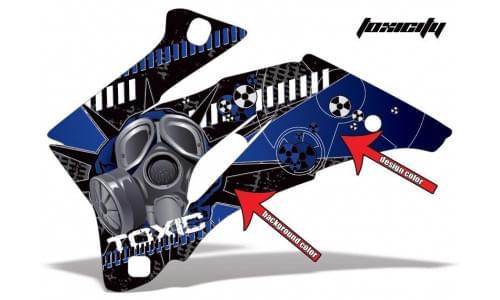 Комплект графики AMR Racing Toxicity (ОUTLANDER MAX G1)