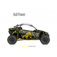 Наклейки (графика) BULL POWER для Can am Maverick ..
