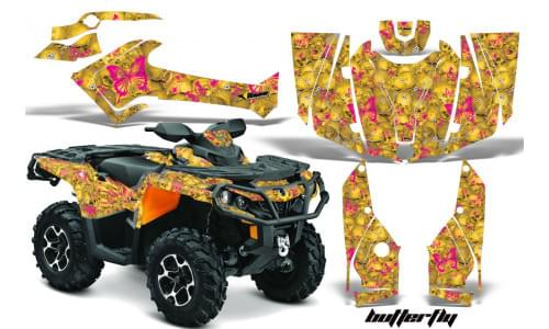Комплект графики AMR Racing Butterfly (ОUTLANDER G2)
