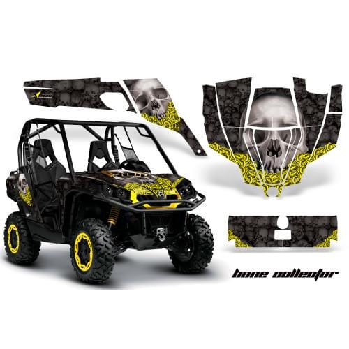 Комплект графики AMR Racing Bone Collector (Сomman...