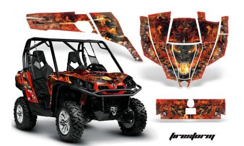 Комплект графики AMR Racing Firestorm (Сommander)