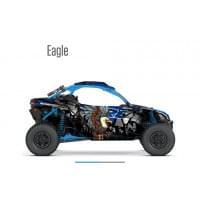 Наклейки (графика) EAGLE для Can am Maverick X3