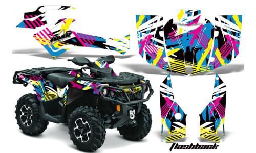 Комплект графики AMR Racing Flashback (ОUTLANDER G2)