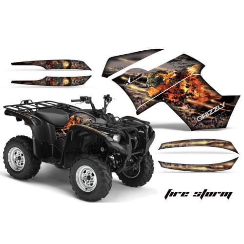 Графика для Yamaha Grizzly 550/700 (Fire Storm)