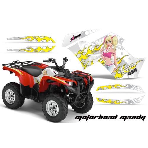 Графика для Yamaha Grizzly 550/700 (Motorhead Mand...