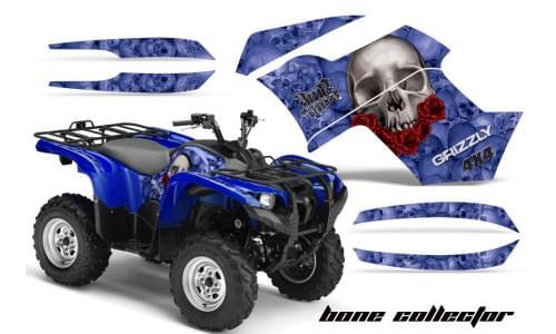 Графика для Yamaha Grizzly 550/700 (Bone collector)