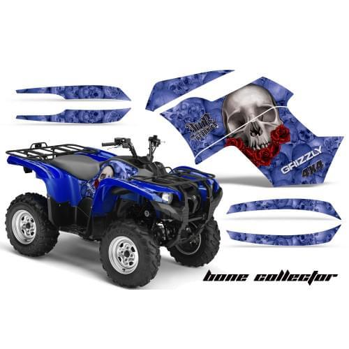 Графика для Yamaha Grizzly 550/700 (Bone collector...