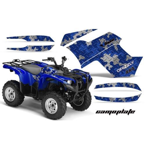 Графика для Yamaha Grizzly 550/700 (Camoplate)...