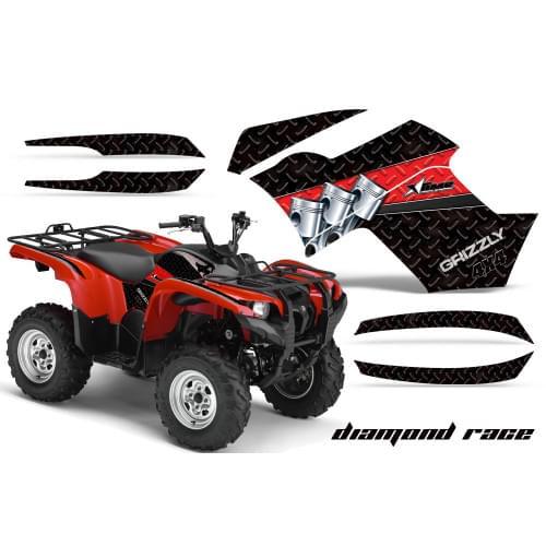 Графика для Yamaha Grizzly 550/700 (Diamond Race)