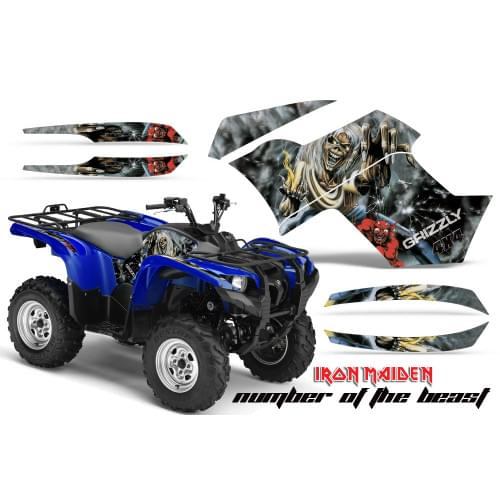 Графика для Yamaha Grizzly 550/700 (Number of the ...