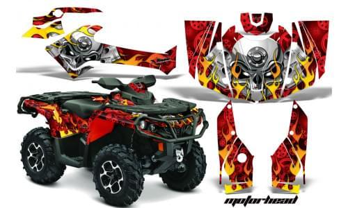 Комплект графики AMR Racing Motorhead (ОUTLANDER G2)