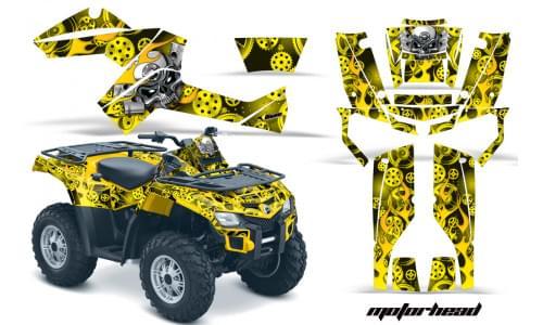 Комплект графики AMR Racing Motorhead (BRP ОUTLANDER G1)