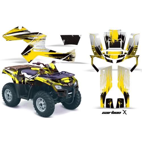 Комплект графики AMR Racing Carbon X (BRP ОUTLANDE...