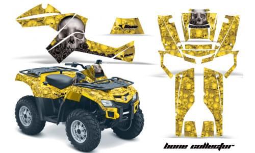 Комплект графики AMR Racing Bone Collector (BRP ОUTLANDER G1)