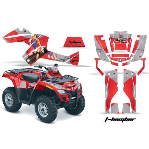 Комплект графики AMR Racing I-Bomber (BRP ОUTLANDE...