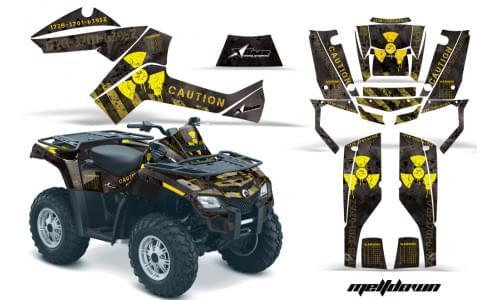 Комплект графики AMR Racing Meltdown (BRP ОUTLANDER G1)