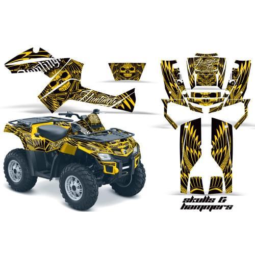 Комплект графики AMR Racing Skulls and Hammers (BR...