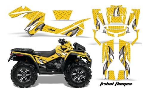 Комплект графики AMR Racing Tribal Flames (BRP ОUTLANDER MAX G1)