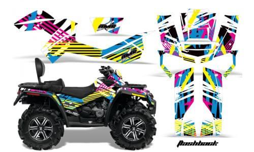 Комплект графики AMR Racing Flashback (BRP ОUTLANDER MAX G1)