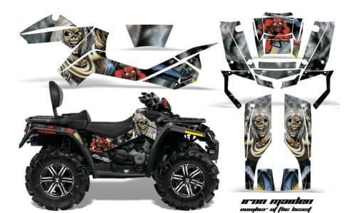 Комплект графики AMR Racing Iron Maiden (BRP ОUTLANDER MAX G1)