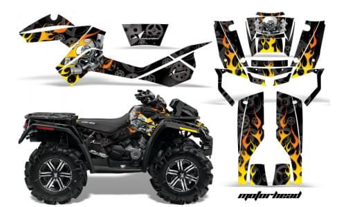 Комплект графики AMR Racing Motorhead (BRP ОUTLANDER MAX G1)