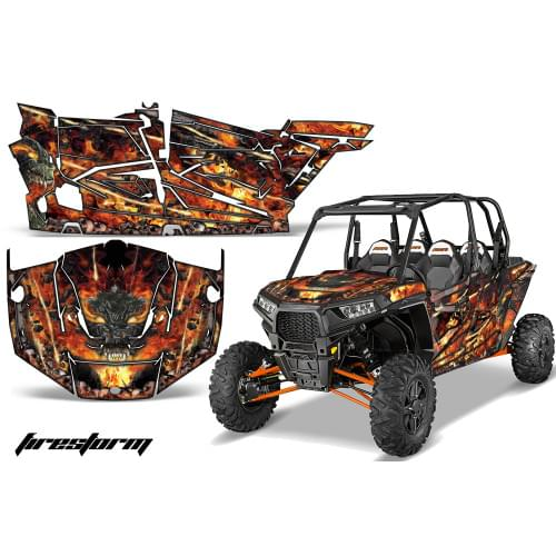 Комплект графики AMR Racing Firestorm (RZR1000XP &...
