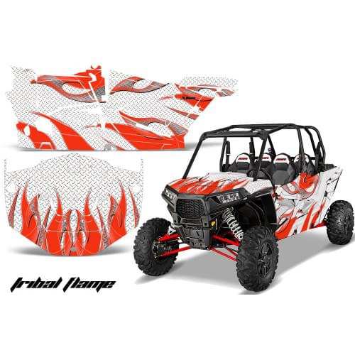 Комплект графики AMR Racing Tribal Flame (RZR1000X...