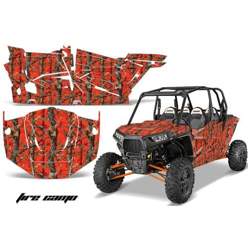 "Комплект графики AMR Racing Fire Camo (RZR1000XP ""4door"")"