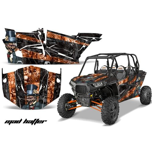 Комплект графики AMR Racing Mad Hatter (RZR1000XP ...