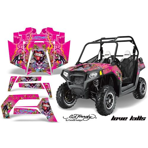 Комплект графики AMR Racing Love Kills (RZR800/800...