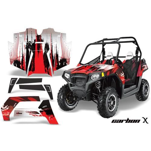 Комплект графики AMR Racing Carbon X (RZR800/800S)...