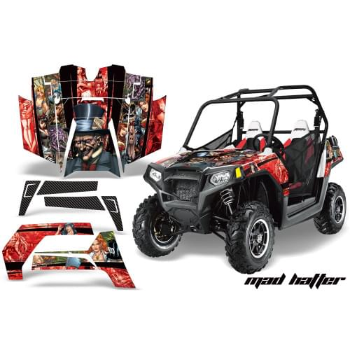 Комплект графики AMR Racing Mad Hatter (RZR800/800S)
