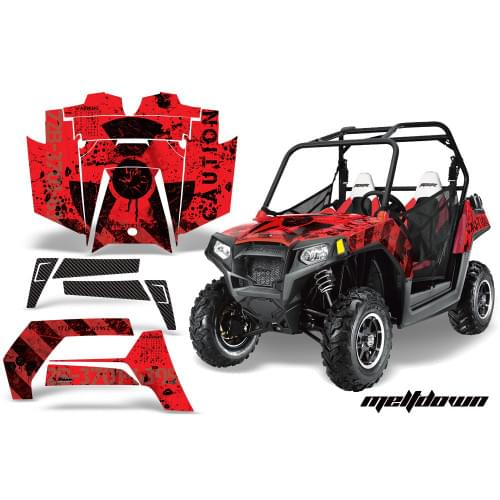Комплект графики AMR Racing Meltdown (RZR800/800S)...
