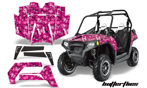 Комплект графики AMR Racing ButterFlies (RZR800/800S)
