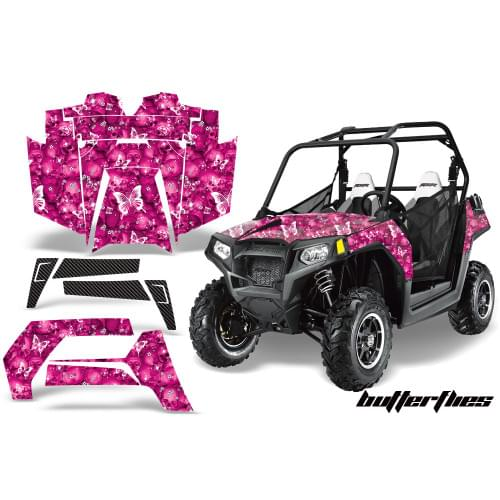 Комплект графики AMR Racing ButterFlies (RZR800/80...