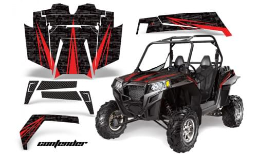 Комплект графики AMR Racing Contender (RZR900XP)