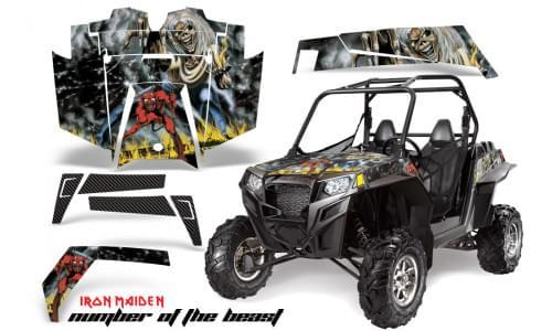 Комплект графики AMR Racing Number Of The Beast (RZR900XP)
