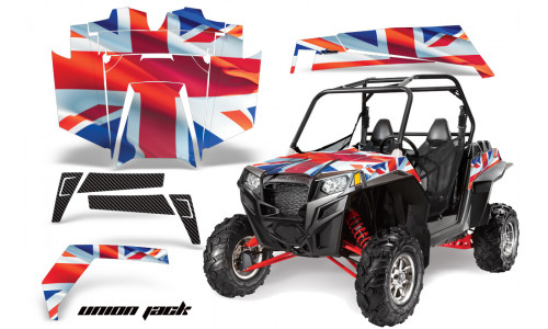 Комплект графики AMR Racing Union Jack (RZR900XP)