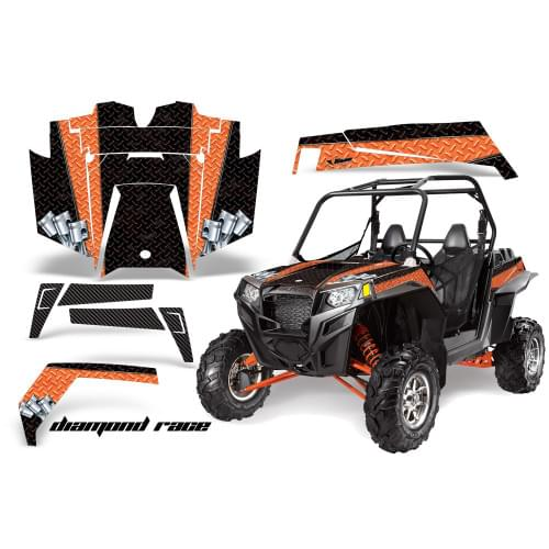 Комплект графики AMR Racing Diamond Race (RZR900XP...