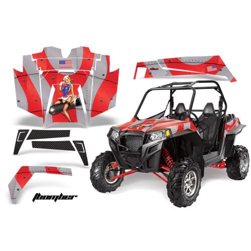 Комплект графики AMR Racing I Bomber (RZR900XP)...