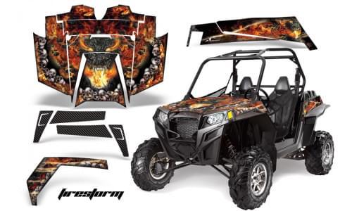 Комплект графики AMR Racing Firestorm (RZR900XP)