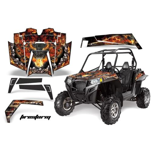 Комплект графики AMR Racing Firestorm (RZR900XP)...